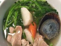 港式西洋菜皮蛋瘦肉湯