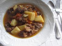 壓力鍋食譜3---土式茄汁馬鈴薯燉肉