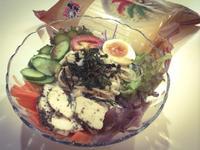 日式涼拌鮮蔬五木冷麵