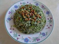 健康素食派~香椿松子炒飯