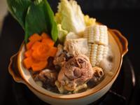 醬油風味雞肉火鍋+雜炊