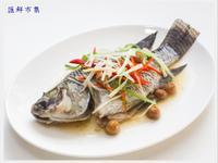 電鍋料理~甘樹子蒸台灣鯛