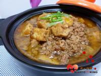 電鍋滷肉燥+炸豆腐