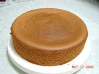 蒸鍋式戚風蛋糕