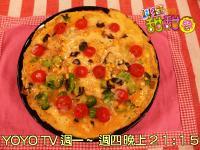 料理甜甜圈【頭好壯壯週】黑木耳披薩蛋