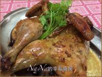 蒜香黑胡椒烤雞