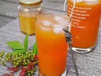 護眼消除疲勞--高麗蔘蜂蜜胡蘿蔔汁