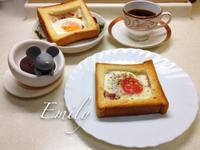 培根蛋吐司麵包