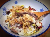 【桔香醬油】牛肉絲豆芽飯