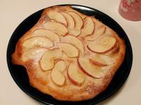 麵包機做薄皮PIZZA-薄脆香甜蘋果比薩
