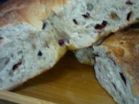 免揉天然酵母蔓越莓核桃麵包