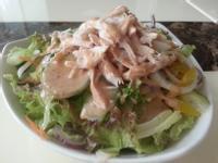 日式胡麻醬雞絲沙拉