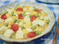蕃茄豆腐炒蛋