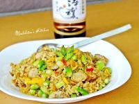 蘆筍雞粒炒飯【淬釀節氣食譜】