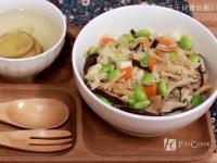 日式干貝雜炊飯