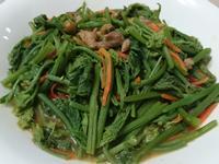 [綠色蔬菜]破布子炒龍鬚菜
