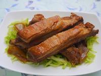 醬燒豬肋排