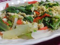 小白菜炒蛋【食在養生】