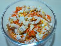 寵物鮮食食譜>消暑卡滋蜂蜜沙拉,狗貓年菜