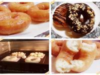 奶油糖霜甜甜圈(油炸法)