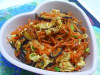 lanni  香菇蛋炒紅蘿蔔
