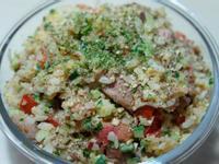寵物鮮食食譜>五行元氣蛋炒飯,狗貓鮮食