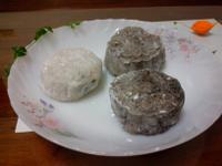 芝麻綠豆冰皮月餅