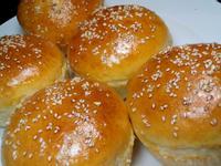 自製漢堡麵包餐~