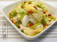 麻油暖薑炒高麗  ◆華麗風高麗菜3