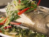 雪菜蒸石斑(宴客精緻菜餚)【蔡季芳老師】