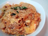 泡菜鮪魚蓋飯