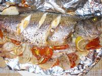 地中海烤魚