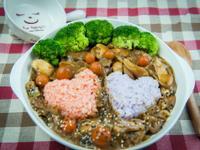 菌菇羊肉咖哩飯@Selina Wu