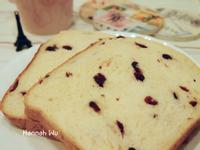 蔓越莓吐司  【麵包機版】