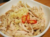 蒜泥白肉(低脂雞胸肉版)