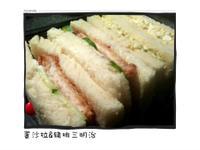 豬排蛋沙拉三明治