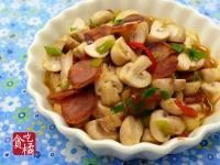 蒜辣香腸蘑菇 ♥ 蘑菇小酒館2♥