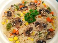 和風蘑菇野菜炊飯