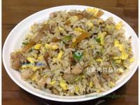 五花肉舞菇炒飯