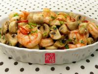 橄欖油鮮蝦蘑菇 ♥ 蘑菇小酒館6♥