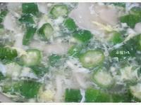 秋葵菇菇湯