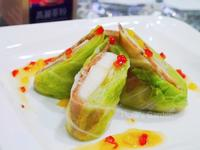 高麗蔘高麗菜西洋梨肉捲(素食版)