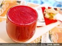 黑木耳甜菜根蔬果汁.柯媽媽の植物燕窩
