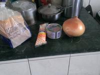 洋蔥鮪魚沙拉吐司之輕巧早餐