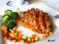 烤豬排佐黑胡椒蘑菇醬『家樂福廚神大賽』