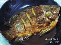 香蒜蜜汁吳郭魚