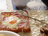 [早餐][烤箱] -起司黃金蛋烤吐司
