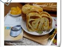南瓜鮮奶吐司【整型篇】-パンの鍋製麵包機