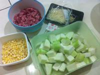絲瓜絞肉粥