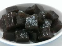 寵物鮮食食譜>秋季食補黑糖蓮藕糕,狗鮮食